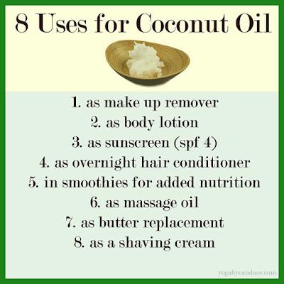 Dùng dầu dừa đúng cách