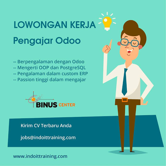 Loker Pengajar Binus Center Bandung