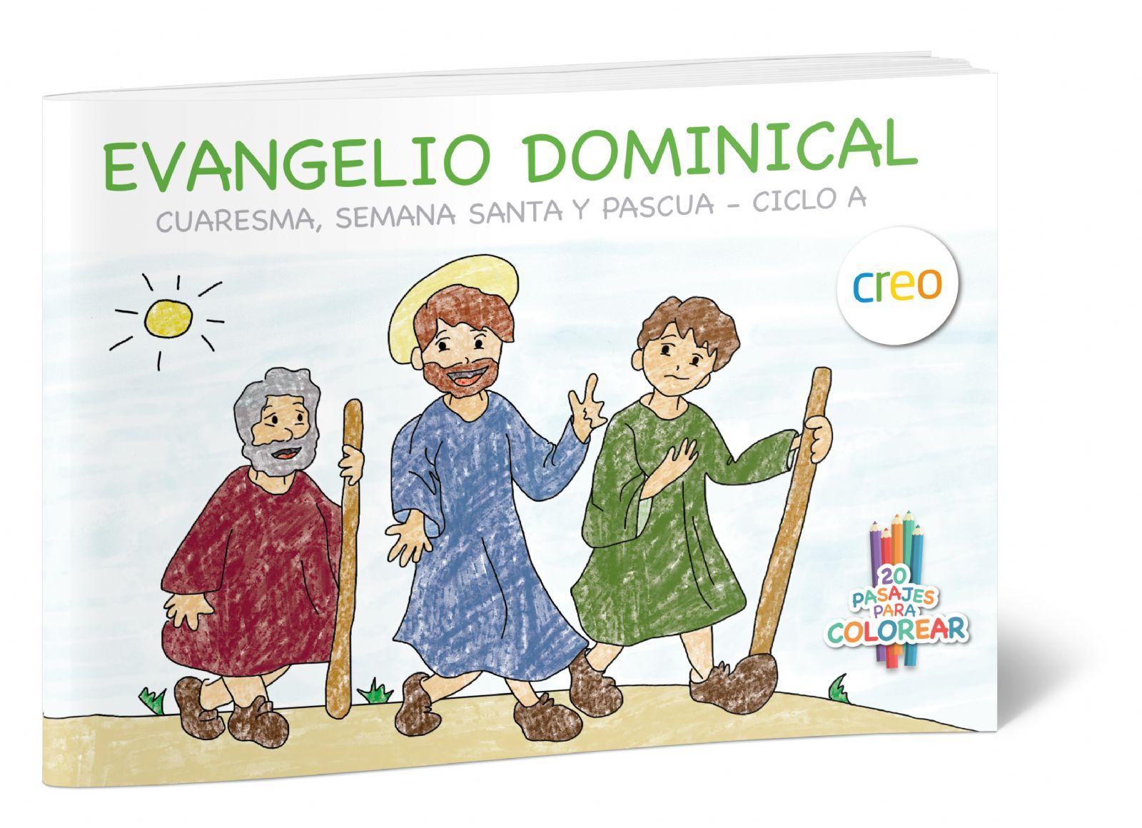 Libro para colorear y comentar con los niños: 20 escenas de la ...