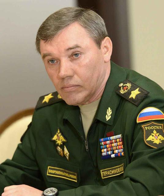 Valery Gerasimov Comandante das Forças Armadas da Federação Russa