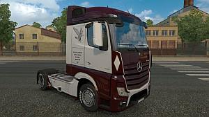 Mercedes MP4 Falco Transport