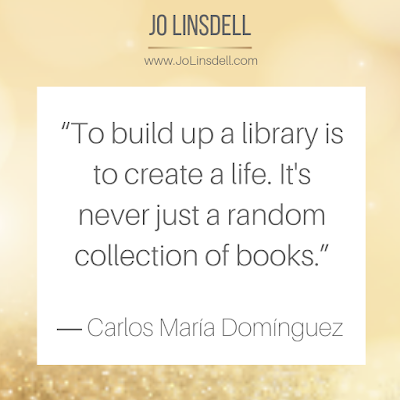 """To build up a library is to create a life. It's never just a random collection of books.""  ― Carlos María Domínguez #Quote"