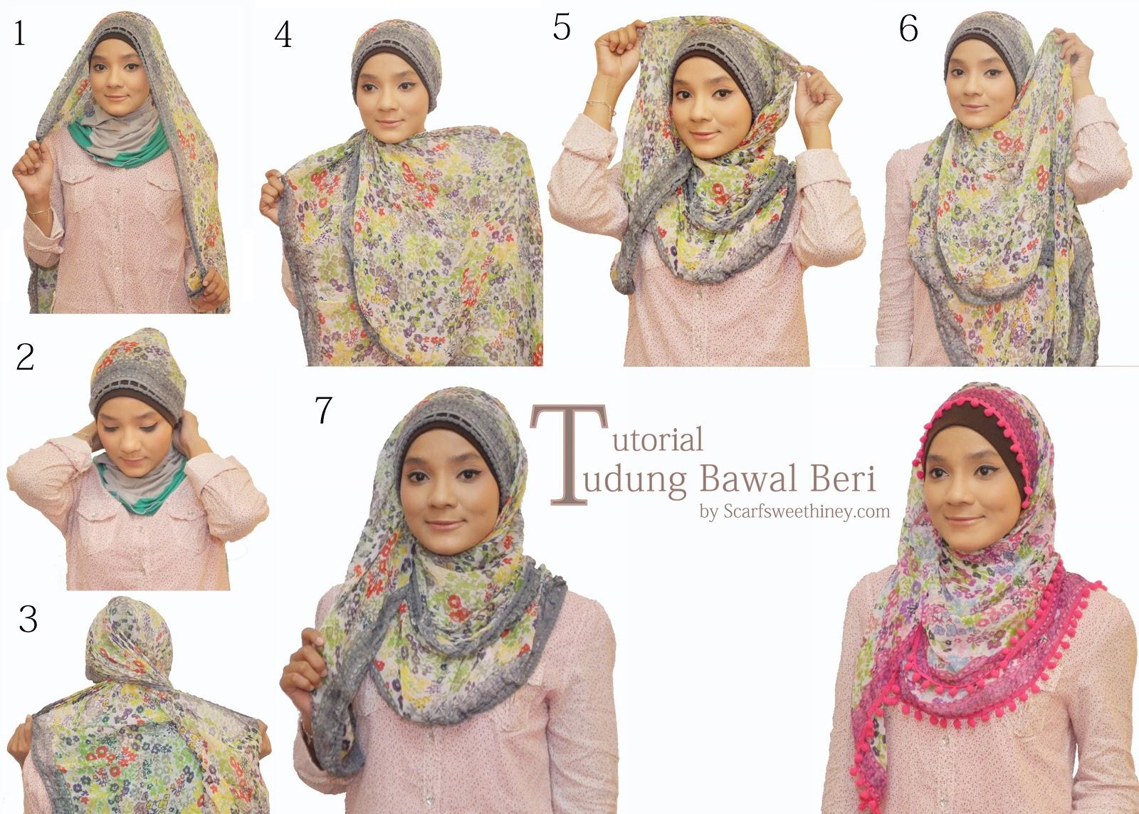 Tutorial Cara Memakai Hijab Lengkap 90 Gaya Bagian 3 Situs