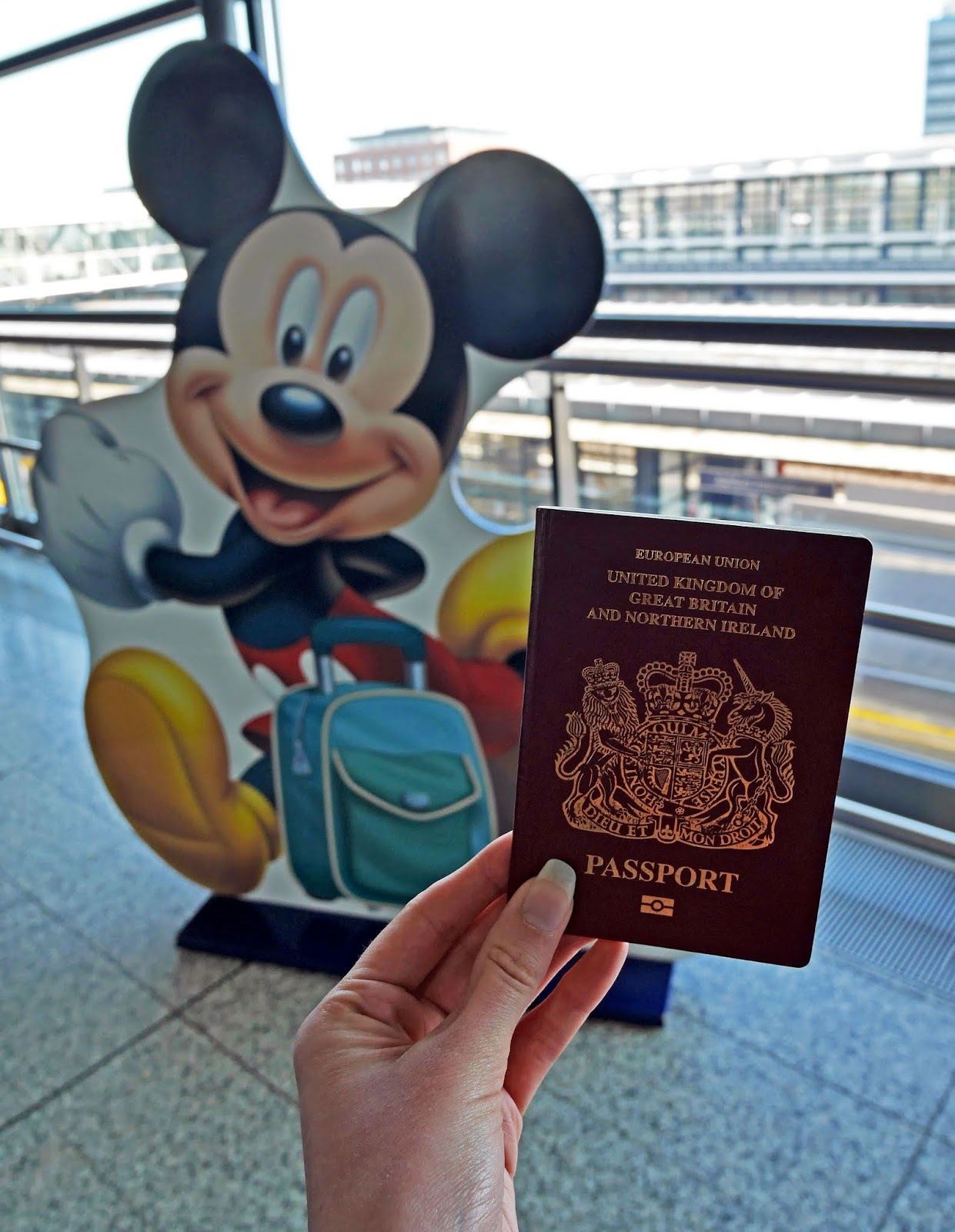 Taking the Eurostar to Disneyland Paris from Ashford International
