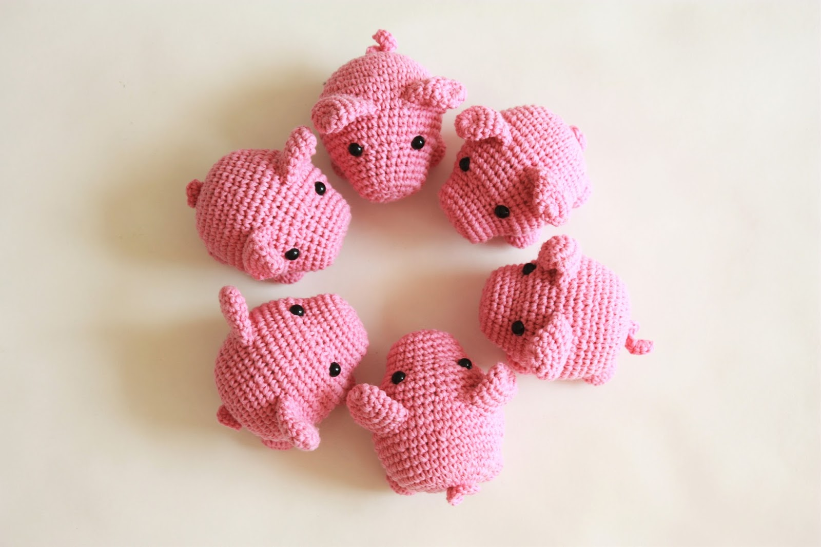 Happyamigurumi: New Amigurumi Pattern : Little Pig PDF Tutorial now ...