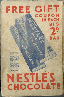 An advertisement for Nestle's chocolate.
