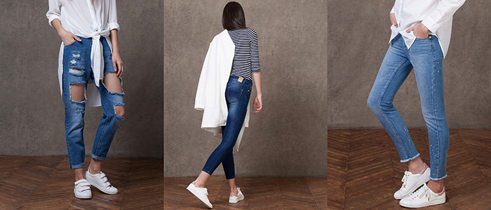 jeans cropped stradivarius
