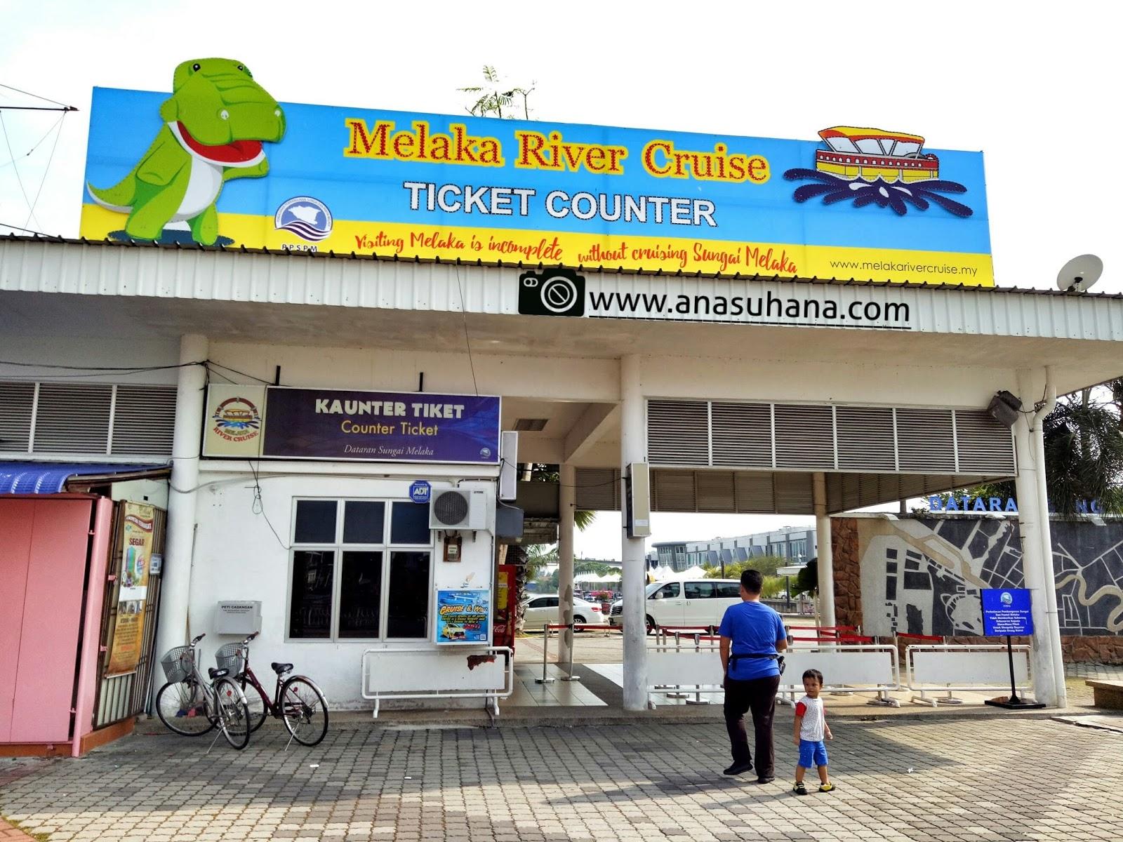 Tempat Menarik di Melaka : Berangan ala Venice di Melaka River Cruise