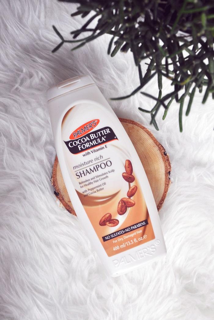 Recenzja: Palmer`s Cocoa Butter Formula, Moisture Rich Shampoo   Zimowa ochrona włosów
