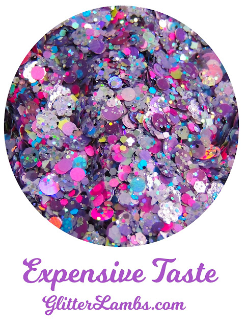 "Glitter Lambs ""Expensive Taste"" Nail Polish"