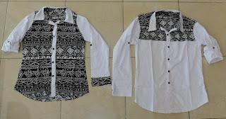Jual Online Monocrose White Murah Jakarta Bahan Katun Stretch Terbaru