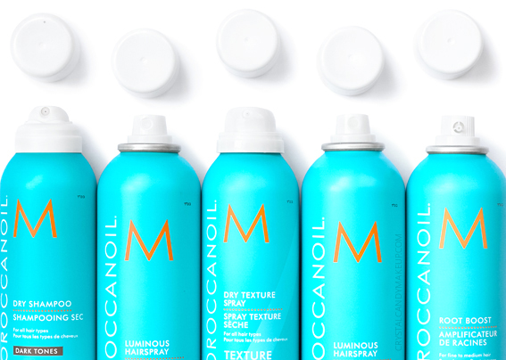 Moroccanoil Review Luminous Hairspray Root Boost Dry Texture Spray Shampoo Dark Tones
