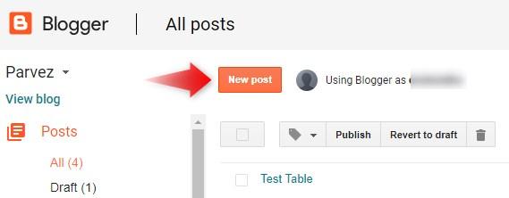 blog-par-post-publish-kaise-kare