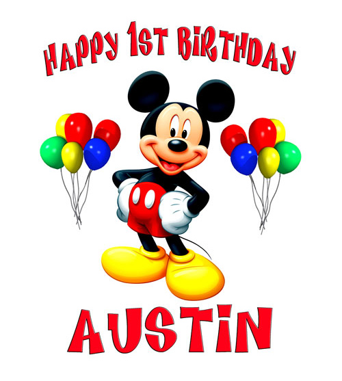 9 Disney Happy Birthday Mickey Mouse Characters Wallpaper