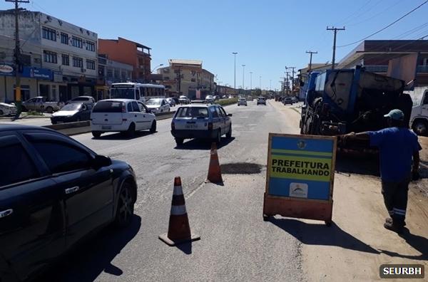 Operação Tapa Buracos chega a novos bairros de São Pedro da Aldeia