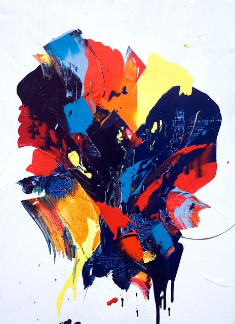 jean baptiste besançon peinture acrylique artiste peintre abstraction lyrique