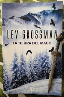 Portada del libro La tierra del mago, de Lev Grossman