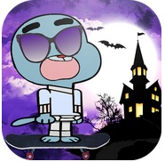 Juego Skater Gumball Adventure World