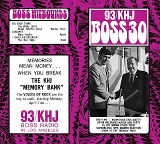 KHJ Boss 30 No. 196 - Scotty Brink with Sam Yorty