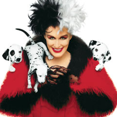 101 Dalmations, Glenn Close