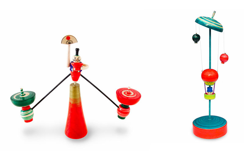 Japanese Toy Tops : Japanese edo spinning tops by masaaki hiroi