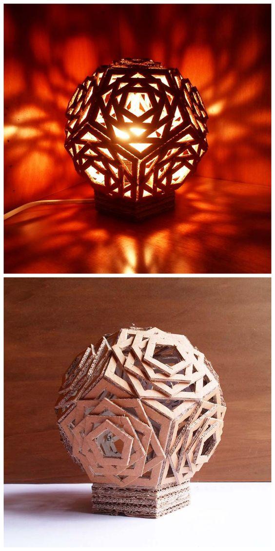 Kreasi dari kardus bekas yang dibuat menjadi berbagai ...