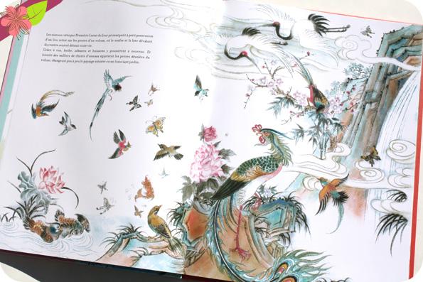 La princesse aux doigts d'or de Christian Jolibois et He Zhihong - éditions Milan