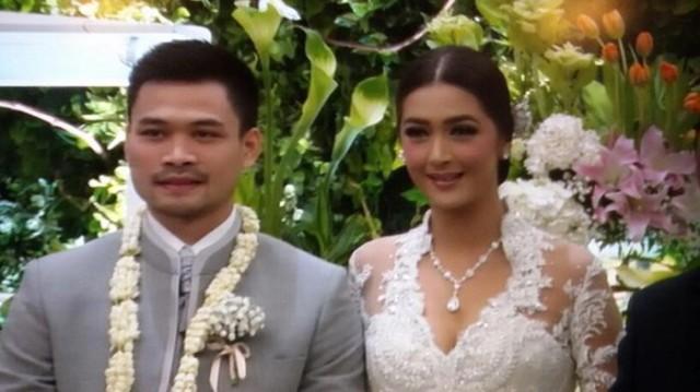Nabila Syakieb dan Reshwara Argya Radinal Resmi Menikah