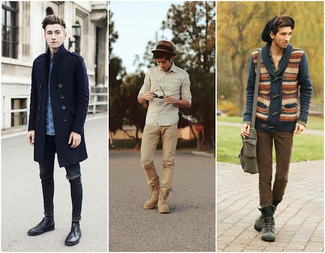 Look's masculinos para o outono e inverno