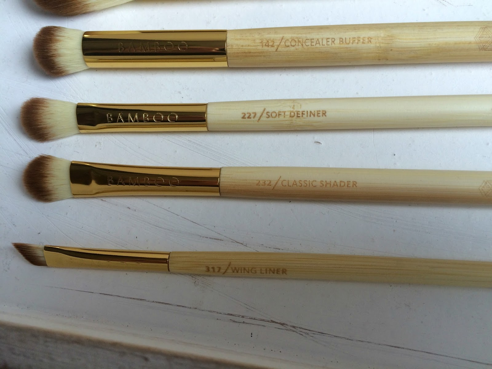 zoeva bamboo vol 2  eye brushes
