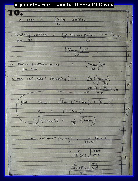 Kinetic Theory Of Gases10