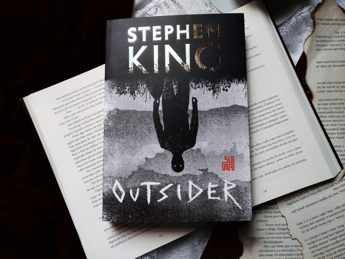 { #RESENHA } OUTSIDER - STEPHEN KING