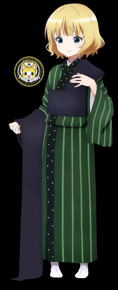 render Sharo Kirima,  kimono
