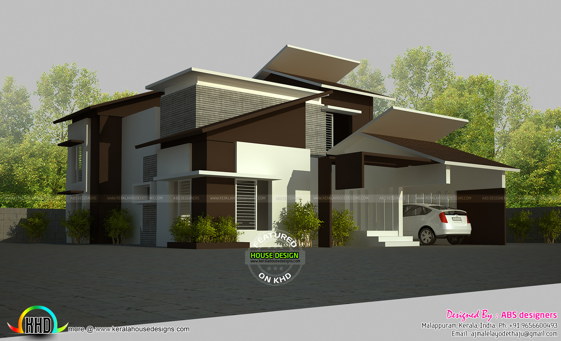 5 bedroom contemporary home 2800 sq-ft
