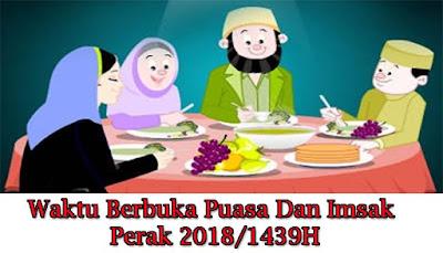 Waktu Berbuka Puasa Dan Imsak Perak 2018/1439H