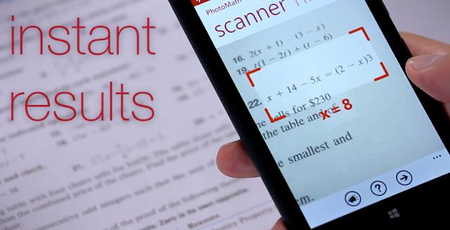 Menyelesaikan Soal Matematika dengan Aplikasi PhotoMath