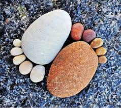 đá cuội đẹp được sử dụng để trang trí hồ thủy sinh