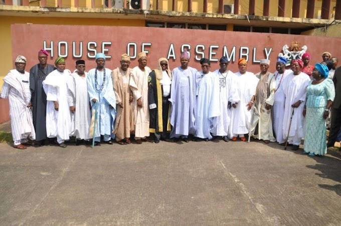Ogun State Assembly receives 6 bills from Amosun