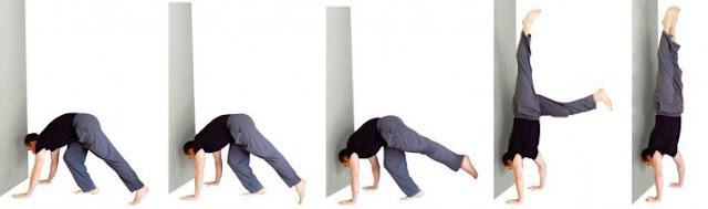 5 Cara Berdiri Dengan Tangan (Handstand), cara melakukan handstand