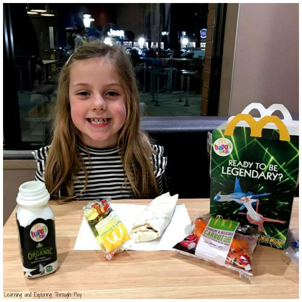 Launch of the Vegetarian Happy Meal at McDonald's