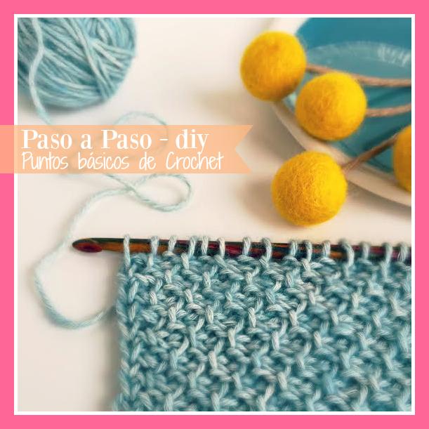 puntos básicos de crochet