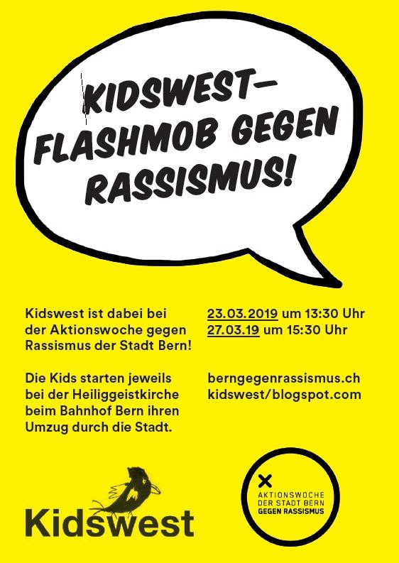 Einladung zur Aktionswoche gegen Rassismus der Stadt Bern 2019