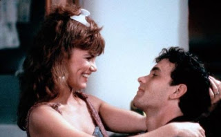 Tawny Kitaen and Tom Hanks in Bachelor Party 1984