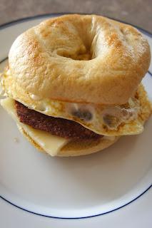 Bagel Breakfast Sandwich: Savory Sweet and Satisfying
