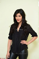 Shruti Haasan Looks Stunning trendy cool in Black relaxed Shirt and Tight Leather Pants ~ .com Exclusive Pics 031.jpg