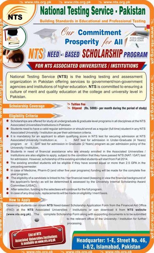 Essay based scholarships