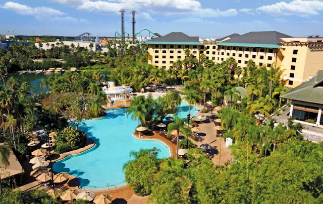 Hotel Universal Royal Pacifc Resorts Orlando