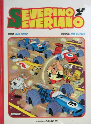Portada del álbum dedicado a Severino y Severiano (1971)