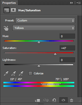 Hue-and-saturation-settings