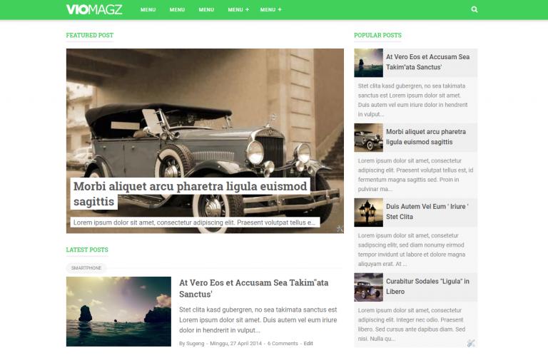 Download Template VioMagz v2.4